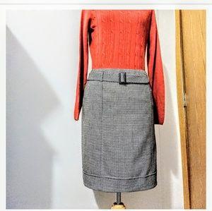 Talbot's Houndstooth skirt